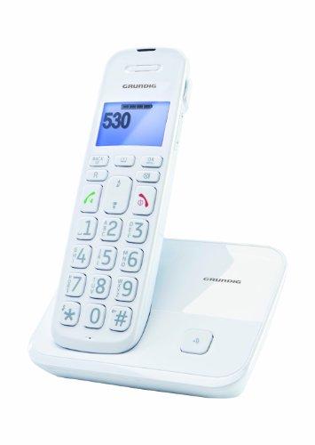 Grundig D530 DECT Schnurloses Großtastentelefon weiß