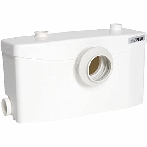Urinal Residential - Saniflo 002 SANIPLUS Macerating Pump, White