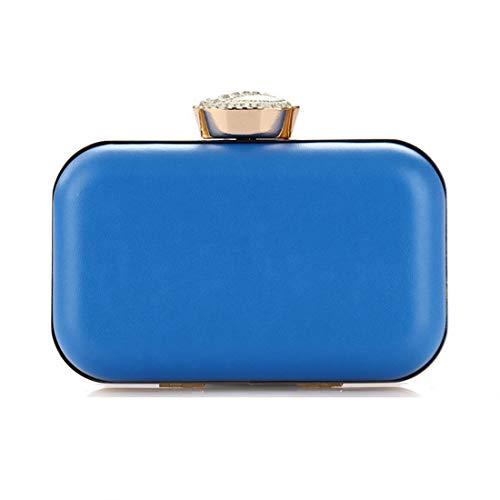 Fubule tracolla blu per Borsa donna arancione a rZqvUr