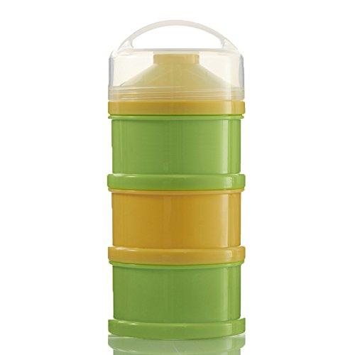 品多く Baby Free) Snack by Container (BPA - Stackable Formula Dispenser and Snack Container (BPA Free) (Yellow Green) by goodbuymall B01HFTWTIY, テンドウシ:ff4b1c0f --- a0267596.xsph.ru