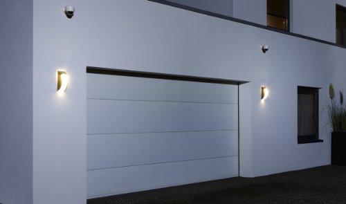 Philips luminaire extérieur applique murale olive inox w v