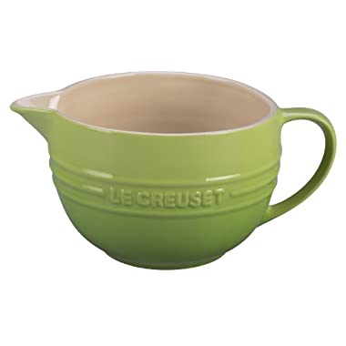 Le Creuset Stoneware 2-Quart Batter Bowl, Palm