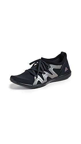 Sneakers Adidas Stella Mccartney Da Donna Crazymove Pro Nero / Metallizzato / Argento Metallizzato