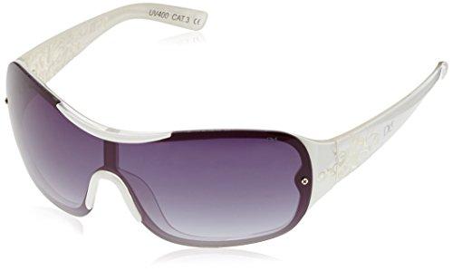Dice lunettes de soleil pour femme - Blanc - Blanc gUh3LJOcdA