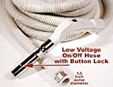30ft Low Voltage On/Off Hose with Button Lock