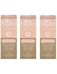 Hello Sensitivity Relief Toothpaste Soothing Mint with Coconut Oil 4.2 Oz (Pack Of 3)