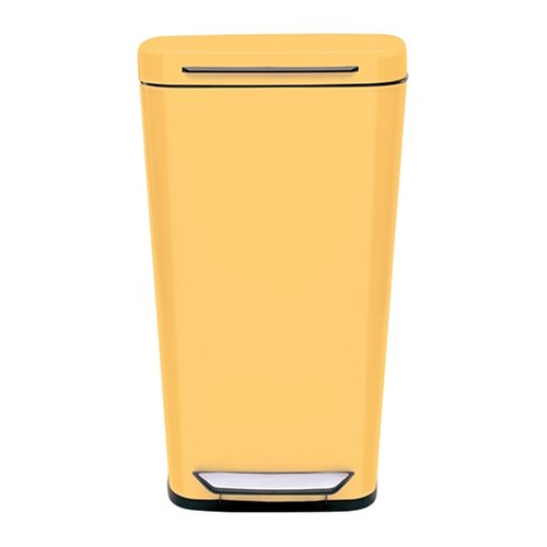 Oxo Good Grips Yellow Steel Rectangular Trash Can 10