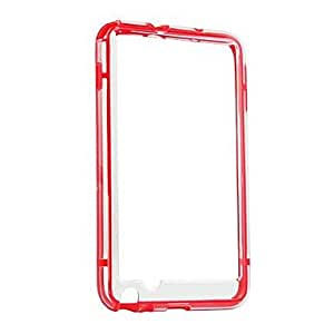 SHERRYLEE TPU Bumper Frame for Samsung Galaxy Note i9220 (Assorted Colors) , Blue