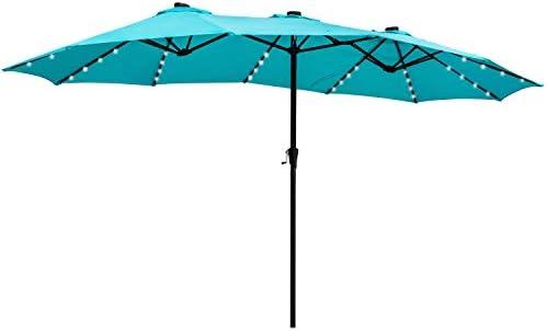 15FT Double-Sided Patio Umbrella