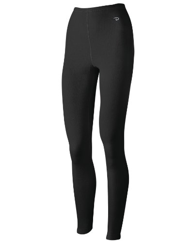 Duofold by Champion Thermals Women's Base-Layer Underwear_Black_Small (Duofold Jersey Cotton)