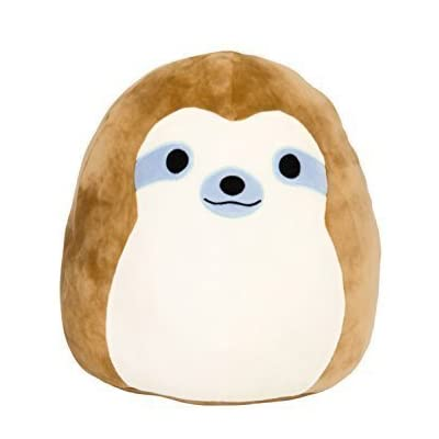 "Squishmallow Kellytoy 13"" Simon The Sloth Super Soft Plush Toy Pillow Pet Pal Buddy: Toys & Games"