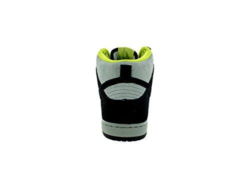 Scarpa da skate Nike Dunk High Pro SB nera / nera / base grigia Uomo 9 uomini Stati Uniti