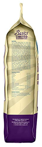 Blue Buffalo Basics Limited Ingredient Diet, Natural Senior Dry Dog Food, Turkey & Potato 24-lb
