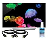 LG 55EF9500 55-Inch Class 4K Resolution 54.6-Inch Diag Ultra HD Smart OLED TV Bundle with 2 HDMI Cables & Screen Cleaning Kit