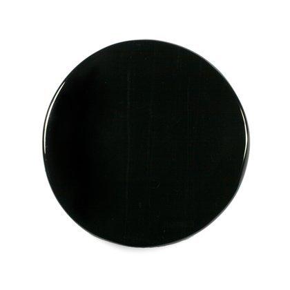 CrystalAge Black Obsidian Scrying Mirror - Small Black Scrying Mirror