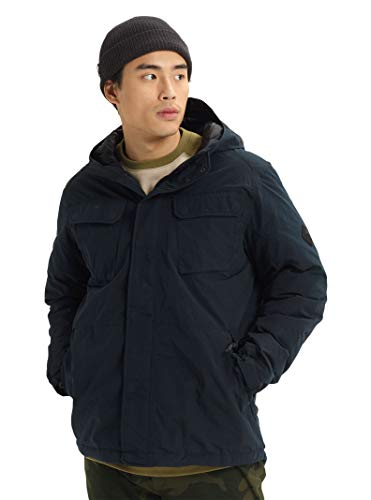 Burton Men's Men's Edgecomb Jacket, True Black, X-Small