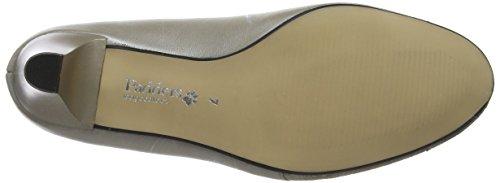 Padders Women's Joanna Closed-Toe Heels Beige (Stone Purple) qGpa3Z