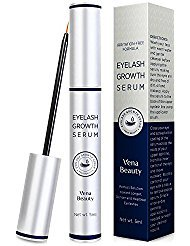 Advanced Eyelash Growth Serum (5ml) & Eyebrow Conditioner Enhancer For Lush Voluminous Long Brow & Lash Boost Primer 3 Month Supply by AsaVea
