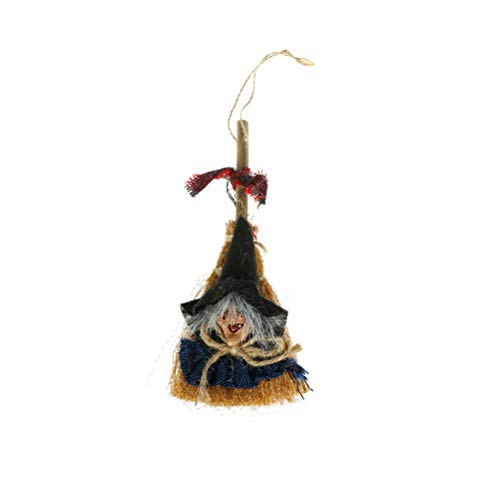 Party Diy Decorations - Hanging Broomstick Witch Door Halloween Costume Party Dressed Up Particular Pirate Hook Decoration - Party Decorations Party Decorations Jessy Costume Witch -