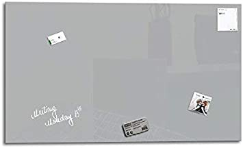 Magnetwand   Memoboard Schwarz 3 Magnete 1 Marker 100 x 60 cm Glas Expert Magnettafel Smart Glass Board /® Glas Whiteboard