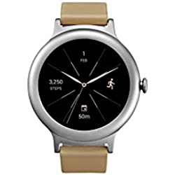 LG Electronics LGW270.AUSASV LG Watch Style Smartwatch with Android Wear 2.0 - Silver - US Version