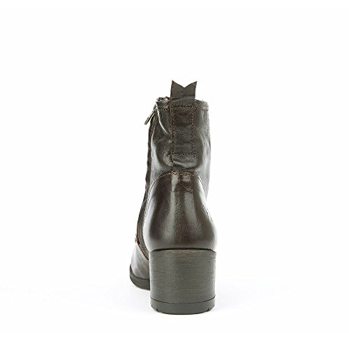 Felmini - Scarpe Donna - Innamorarsi com Ramses 9332 - Stivali Lacci - Genuine Pelle - Marron