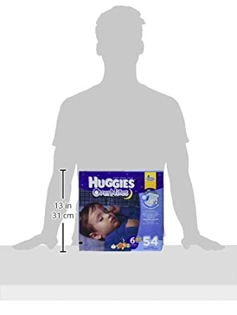 Amazon.com: Huggies Overnites Diapers, Size 6, 54 Count: Health & Personal Care