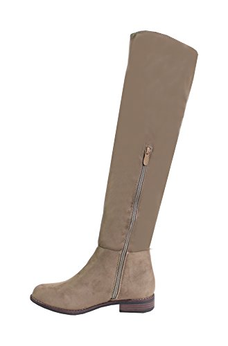 Des Par Des Par Khaki De Chaussures Féminine Bottes Mode xTBTrREqw