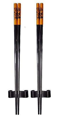 - Amazing Grace Luxury Designer Chopsticks Gift Set Bouquet Series S-2 (Festival Bouquet (Bronze))