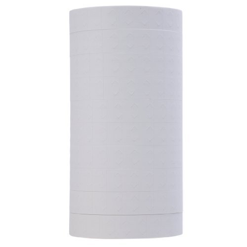 White Pricing Labels to fit Monarch® 1130® Pricers. 10 Rolls with 1 Free Ink Roller.