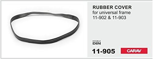 Carav 11 905 Dichtring Für Radioblende Schwarz Gummi Elektronik