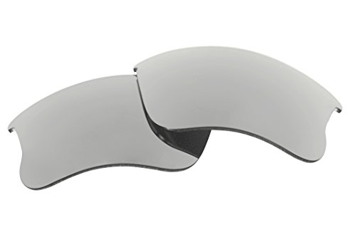 Polarized Replacement Sunglasses Lenses for Oakley Flak Jacket XLJ with UV ()