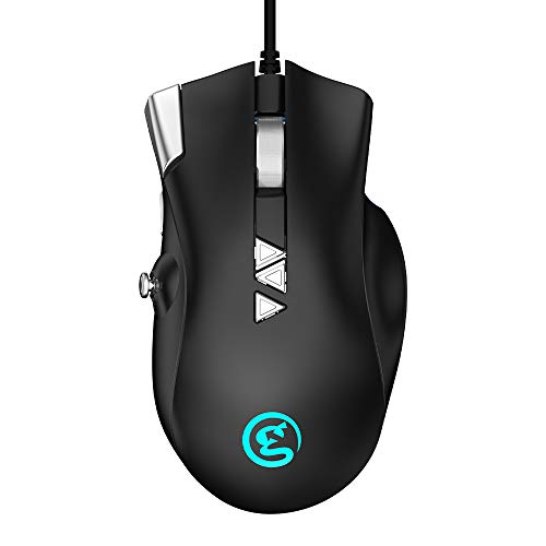 GameSir GM200 Wired Gaming Mouse with 6 Buttons and 1 Joystick...
