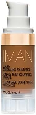 IMAN Cosmetics Concealing Foundation, Dark Skin, Earth 4