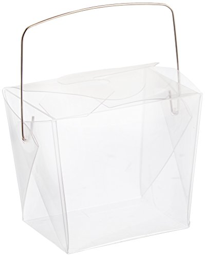 Clear Chinese Take Out Favor Boxes : Oasis supply chinese take out boxes containers for party