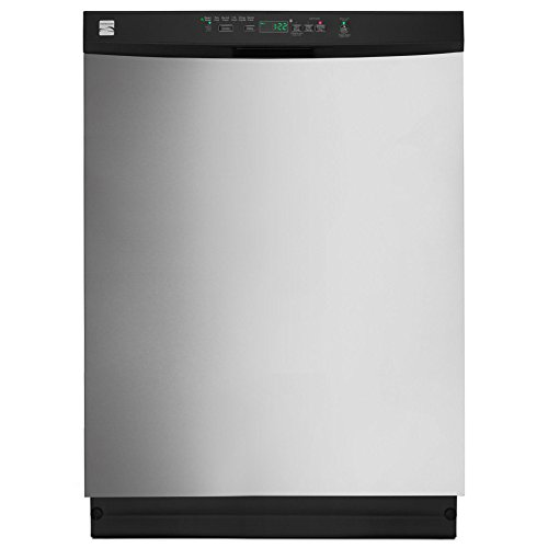 Kenmore 13223 24″ Built-in Dishwasher in Stainless Steel, includes delivery and hookup (Available in select cities)