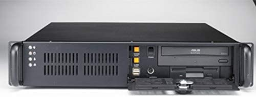 Advantech 2U Rackmount Chassis for ATX//MicroATX Motherboard with Low-Profile Rear Bracket Option