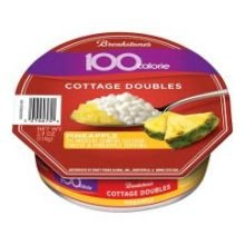 Breakstone Pineapple Cottage Double Cheese, 3.9 Ounce -- 12 per (Fresh Cheese Shelf)