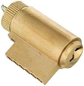 電子ドアロック 指紋生体認証ドアロック、スマートBluetoothのパスワードドアロックキーパッドのタッチスクリーン 電子錠 (Color : Gold, Size : One size)