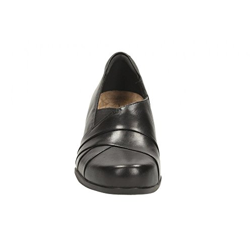 Womens Chaussures Leather Black Large Adele Smart Clarks Rosalyn gRqHCxcE