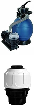 bis 6.000 l//h T.I.P Schwimmbad Filter Set Sandfilteranlage SPF 250 F