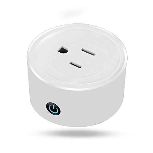 (MJeck Wifi Smart Plug Compatible with Alexa, to voice control all smart home devices, no hub required, mini smart plug design as a unique gift )