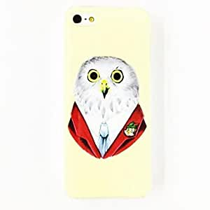 GJYOwl Sir Pattern TPU Soft Case for iPhone 4/4S , Multicolor