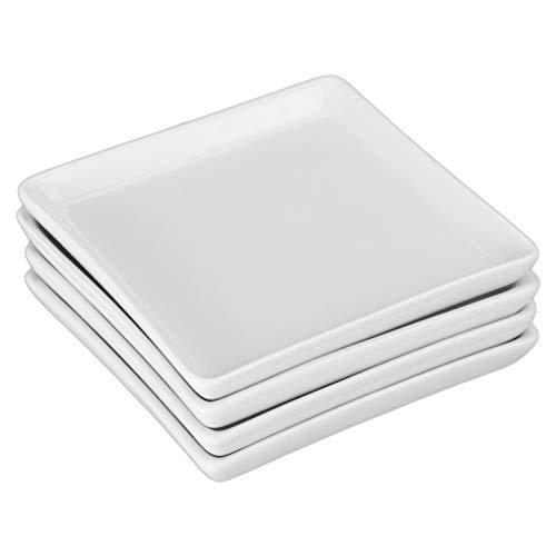 BIA Cordon Bleu 901049GS1SIOC Porcelain Square Crudité Plates One Size ()