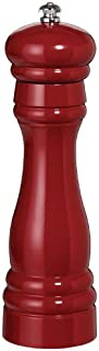 product image for Fletchers' Mill Federal Pepper Mill, Cinnabar - 8 Inch, Adjustable Coarseness Fine to Coarse, MADE IN U.S.A.