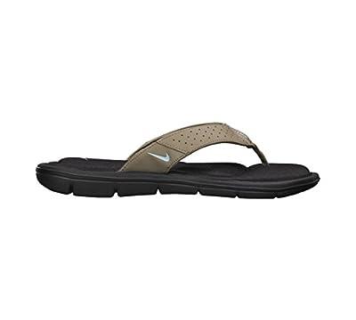 NIKE Comfort Thong Womens Sandals in Khaki/Pale Blue/Tar