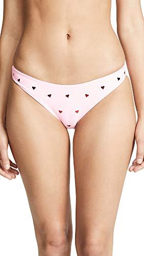 eartthrob Island Bikini Bottoms, Heart, Medium ()