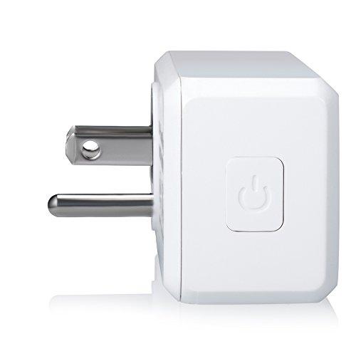 Ora Alexa-Enabled Wi-Fi Mini Smart Plug, White (Pack of 2) by ORA (Image #3)