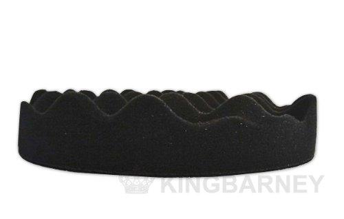 Kingbarney Polierschwamm Set XXL Sparset 10 x Profi Polierschw/ämme 150mm Klett gewaffelt Soft//medium f/ür Poliermaschine perfekte Autopolitur