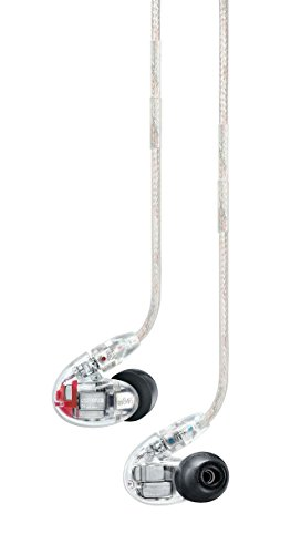 Shure SE846-CL Sound Isolating In-Ear Headphones with Quad High Definition MicroDrivers and True Subwoofer